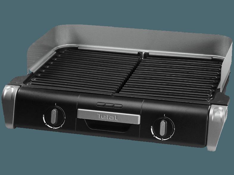 2400 Watt TEFAL TG 8000 BBQ Family Elektrogrill