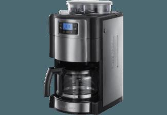 71481c19b726f6 RUSSELL HOBBS 20060-56 GRIND&BREW Kaffeemaschine Silber/Schwarz (Glaskanne)