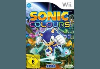 Sonic Colours (Software Pyramide) [Nintendo Wii]