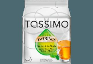 TASSIMO Twinings Green Tea And Mint Kaffekapseln Twinings Grüner Tee mit Minze (Tassimo Maschinen (T-Disc System))