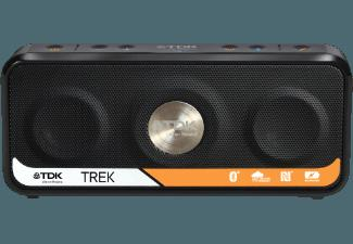 TDK Trek Portable Pocket Speaker Dockingstation Schwarz