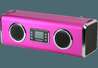 TECHNAXX MusicMan Gigant Dockingstation Pink