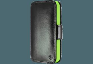 TELILEO Touch Case - iPhone 4 Cowboy grün Echtledertasche