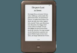 TOLINO 35100 SHINE 6 Zoll 4 GB WLAN und Micro-USB eBook Reader Anthrazit