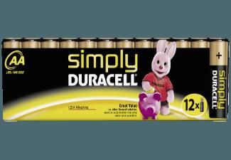 DURACELL 002296 Simply AA Batterie AA