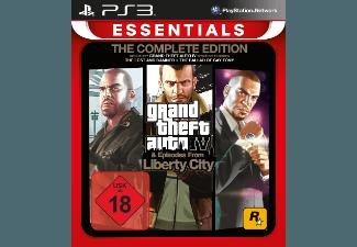 Grand Theft Auto 4 - Complete Edition (Essentials) [PlayStation 3]
