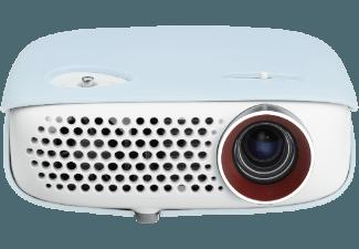 LG PW800 Beamer (HD-ready, 800 ANSI Lumen, DLP)