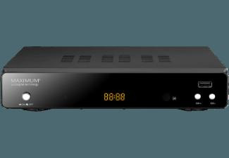 MAXIMUM XO-30S Sat-Receiver (HDTV, PVR-Funktion, DVB-S, Schwarz)
