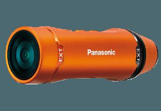 PANASONIC HX-A1 ME-D Actioncam Orange (Wasserdicht bis: bis zu 1.5 m, MOS, WLAN)