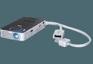 PHILIPS PicoPix 4350W Mini Beamer (QVGA, 50 Lumen, DLP WavEngine)