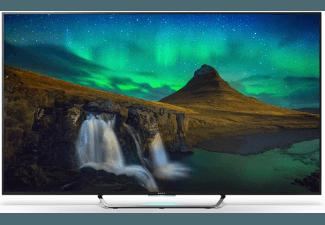 SONY KD55X8505 CBAEP LED TV (Flat, 55 Zoll, UHD 4K, 3D, SMART TV)