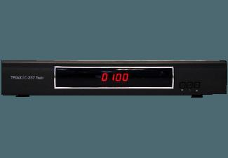 TRIAX Triax-C-237 Digitaler HD-Twin Kabel-Receiver (HDTV, PVR-Funktion, Twin Tuner, DVB-C, Schwarz)