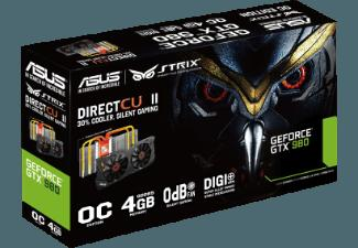 ASUS 90YV07F0-M0NA00 STRIX GEFORCE GTX970 4 GB Grafikkarte ( Intern)