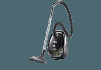 AEG APF 6140 PowerForce Öko (Staubsauger, Hygiene Filter™ E12, A, Ebony Black/Recycled)