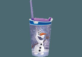 BROSZIO 1707 Snack Magic JR Frozen Olaf Snack- und Trinkbecher