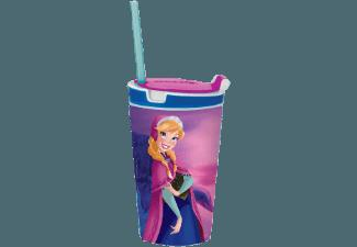 BROSZIO 1708 Snacky Magic JR Frozen Anna Snack- und Trinkbecher