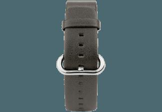 CASEUAL Leather Band 38mm Dunkelbraun (Wechselarmband)