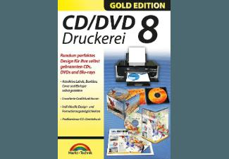 CD/DVD Druckerei 8 - Gold Edition