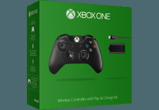MICROSOFT Xbox One Wireless Controller   Play & Charge Kit
