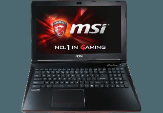 MSI GP62-2QEi781FD Leopard Pro Gaming-Notebook 15.6 Zoll