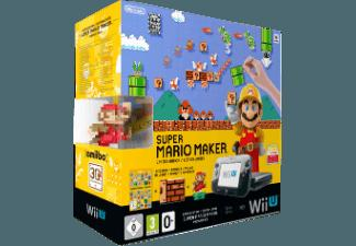 Wii U Limited Edition Super Mario Maker Premium Pack Schwarz