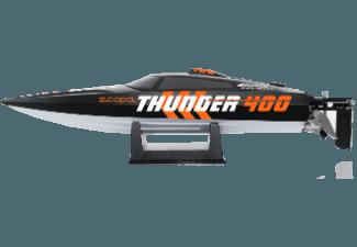ACME ZA0400 Thunder 400 Speedboat Schwarz / Orange