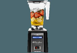 BLENDTEC 02373 Space-Saver Standmixer Schwarz (1560 Watt, 1 Liter)