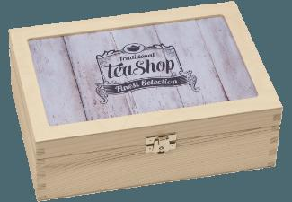 CONTENTO 866380 TEEBOX Traditional Tea-Shop Finest Selection Teebox