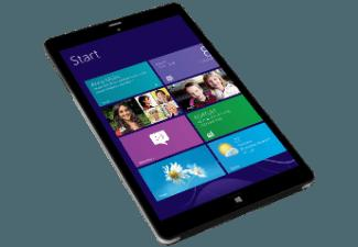 KIANO Intelect 8.0 MS (Windows 8.1) 3G 16 GB black 16 GB   Schwarz