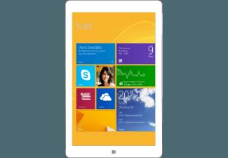 KIANO Kiano Intelect 8 MS (Windows 8.1) 3G 16GB white 16 GB  Tablet Weiß