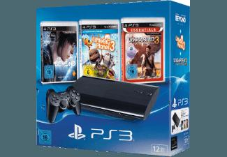 PlayStation 3 Konsole 12GB inkl. BEYOND.Two Souls, LittleBigPlanet 3, Uncharted 3: Drake's Deception