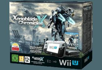 Wii U Limited Edition Xenoblade Chronicles X Premium Pack Schwarz