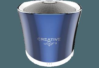 CREATIVE Woof 3 BT Bluetooth Lautsprecher Blau