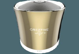 CREATIVE Woof 3 BT Bluetooth Lautsprecher Gold