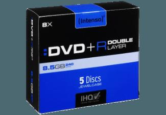 INTENSO 4311245 DVD R Double Layer 5 Stk.