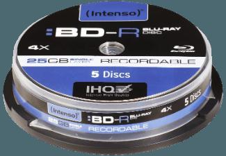 INTENSO 5001111 Blu-Ray-Disc Rohlinge 5 Stk.