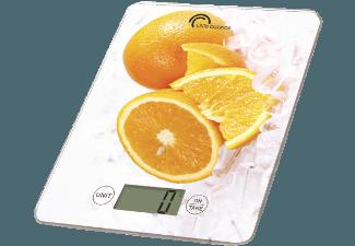 LITTLE BALANCE 8090 Citron Orange Küchenwaage (Max. Tragkraft: 5 kg)