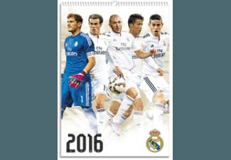 Real Madrid - Kalender 2016 (30x42/A3)
