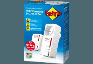 AVM 20002743 FRITZ!Powerline 546E WLAN Set Adapter