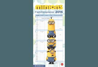 Minions - Familienplaner 2016