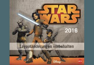 Star Wars Rebels Maxi Postkartenkalender 2016