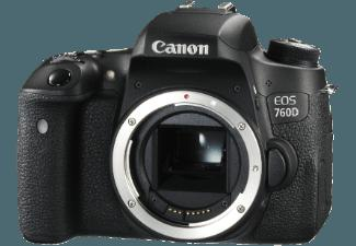 bedienungsanleitung canon eos 760d geh use spiegelreflexkamera 24 2 megapixel 7 7 cm display. Black Bedroom Furniture Sets. Home Design Ideas