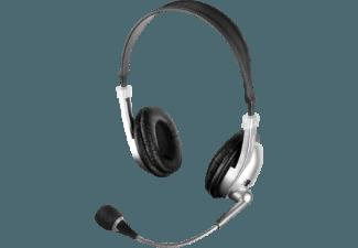 ISY IHS-1000-1 Stereo Headset Silber