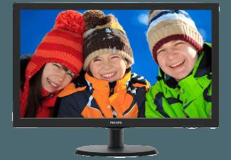 PHILIPS 223V5LHSB2 21.5 Zoll Full-HD LCD-Monitor mit SmartControl Lite