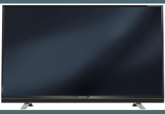 GRUNDIG 55 VLE 8570 BL LED TV (Flat, 55 Zoll, Full-HD, 3D)
