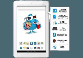 ODYS Junior Tab 8 Pro 8 GB  Tablet Weiss