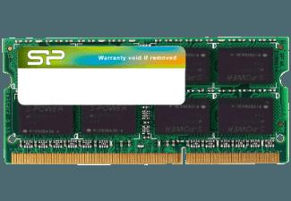 SILICON POWER SP002GBSTU160V01 DDR3 1600 - 204PIN SO-DIMM Speichermodul Upgrade für Notebooks 2 GB